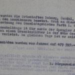Bericht (Fortsetzung) über die Angriffe auf Furth im Wald (Stadtarchiv Furth, 060)