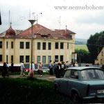 Die Österreicher-Villa am 1.7.1990, als erstmals wieder das Patrozinium gefeiert wurde.