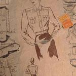 chemiser femme années 40