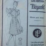 Les patrons élégants 40s blouse