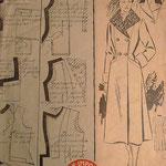 manteau femme 1950