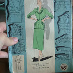 Taille femme années 50