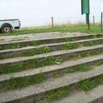 Treppe vor dem Arbeitsdienst