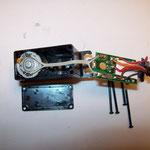 Motorleitung zur Elektronik