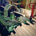 積み木の丸棒の製造