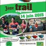 Trail des Ragondins à Cantenay-Épinard (49)