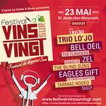 Festival Vins sur Vingt à Saint-Jean des Mauvrets (49)