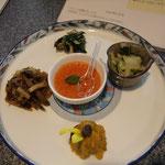 五味五色の前菜