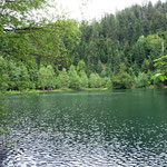 Le but de la sortie: le lac de la Maix