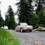 les navettes Citroën vers la voie romaine