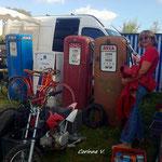 Une pompe sans essence pour une moto sans roue!