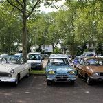Trio Simca, Citroën et Renault