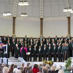 unser Gastgeber, der Herford Police Male Choir