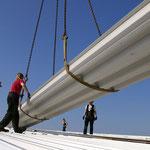 Dachsanierung vor Aufbau einer Photovoltaikanlage