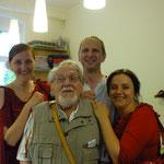 Mit Gosia, Marek und Arno...
