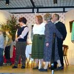 Theatergruppe unter der Regie von Gabi Rühle