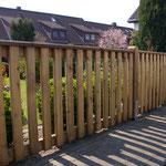 Zaun Undeloh - Fichte