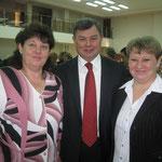 С  губернатором Артамоновым А.Д.