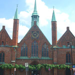 L'hôpital Heiligen-Geist  à Lübeck.