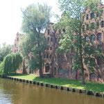 Anciens greniers de sel à Lübeck.