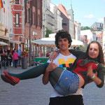 Vicente et Irene à Flensburg.