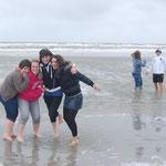 À la plage de St. Peter Ording