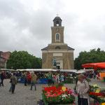 Place de l'Église Sainte Marie à Husum