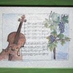 """""""Herbst"""" nach der Musik von Antonio Vivaldi gemalt"""