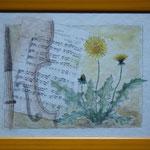 """""""Frühling"""" nach der Musik von Antonio Vivaldi gemalt"""