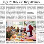 13.02.2020, Wiesbadener Kurier: Programmpräsentation des MGH, Foto Völkercafé