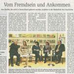 25. Januar 2019 Wiesbadener Kurier: Völkermühle am Rhein - Gelungene Integration?