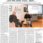 """17.01.2010,  Wiesbadener Kurier: Völkermühle am Rhein - """"Ich bin nicht rechts, aber...."""""""