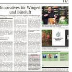11.12.2020, Wiesbadener Kurier: Rheingauer Gründungspreis - Sonderpreis Nähwerkstatt 4Freude