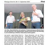 17.09.2020, Rheingau Echo: MasterPeace Festvial 2