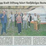 27.08.2020, Rheingau Echo: 5 Jahre Philipp-Kraft-Stiftung 1