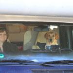 So, die Fahrerin ist startklar :-)