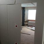 Trockenbau Ständerwände beplankt mit Trockenbauplatten