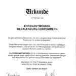 Teilnahme an der Ehrenamtmesse am 27.02.16 in Greifswald