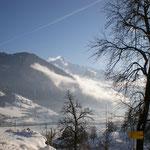 Ausblick vom Garten, Richtung Mayrhofen