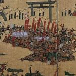 5階「大坂夏の陣図屏風」 真田幸村軍