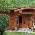 Dachbegrünung  Garten- und Landschaftsbau Gröne Blockhaus mit Sedum Gründach extensive Begrünung
