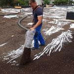 Aufblasen Gründach Substrat Garten- und Landschaftsbau Gröne
