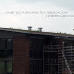 Garten- und Landschaftsbau Gröne  Gründach Firmengebäude