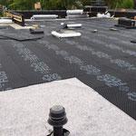Extensive Dachbegrünung Dachaufbau Zinco Gründach-System  Garten- und Landschaftsbau Gröne