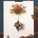 Der Maler, 110 X 75 cm, 1981, Öl/Tempera. Mischtechnik
