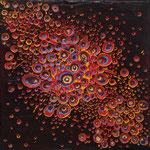 No. 66 - Mischtechnik Acryl auf Leinwand 20x20 cm (2015)