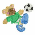 Ourson footballeur
