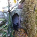 Eingang zum Tiefen Victoria Stolln