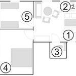 Grundriß Wohnung 2