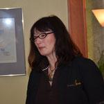 Marion Pepper beim Vorstellen der Malts und der Whisky